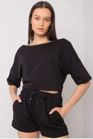 Juodas moteriškas kostiumėlis MOD995