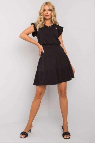 Juodas moteriškas kostiumėlis MOD1146
