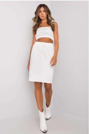 Baltas moteriškas kostiumėlis MOD1138