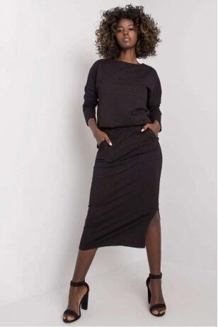 Juodas moteriškas kostiumėlis MOD1135