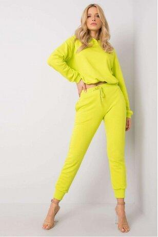 Neoninės žalios spalvos sportinis kostiumas MOD885