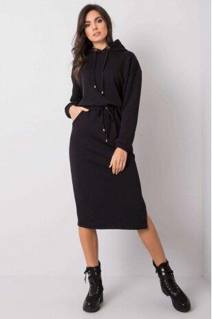 Juodos spalvos moteriškas kostiumėlis MOD841