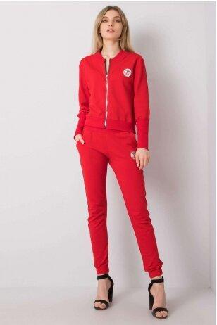 Raudonas sportinis kostiumas MOD934
