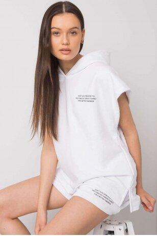 Baltas moteriškas kostiumėlis MOD1026