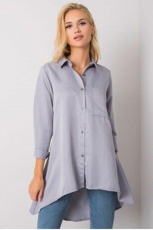 Pilkos spalvos marškiniai MOD1489