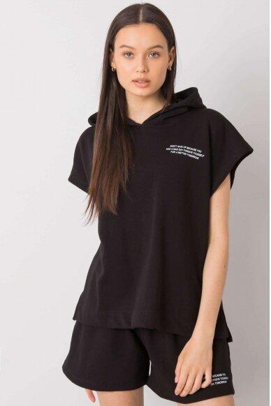 Juodas moteriškas kostiumėlis MOD1026 2