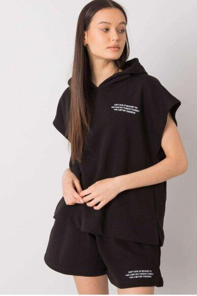 Juodas moteriškas kostiumėlis MOD1026 3