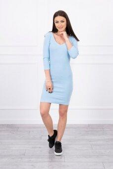 Mėlyna suknelė MOD060