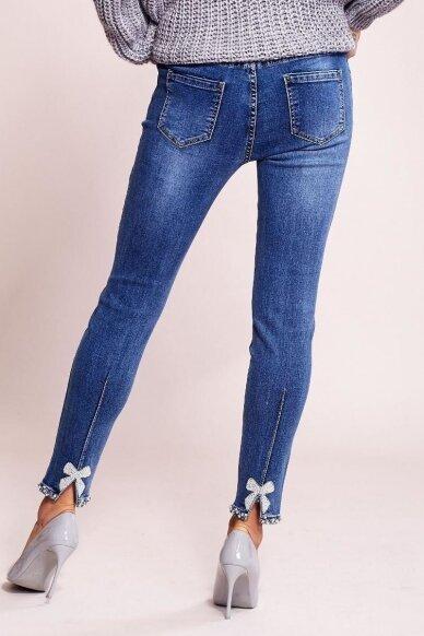 Mėlynos spalvos džinsai MOD822 3