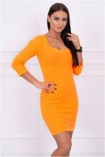neonine-oranzine-suknele-mod201