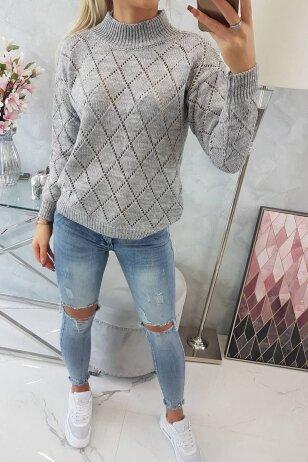 Pilkas megztinis MOD784