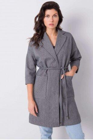 Pilkas paltas MOD903