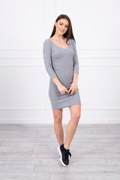 Pilka suknelė MOD060