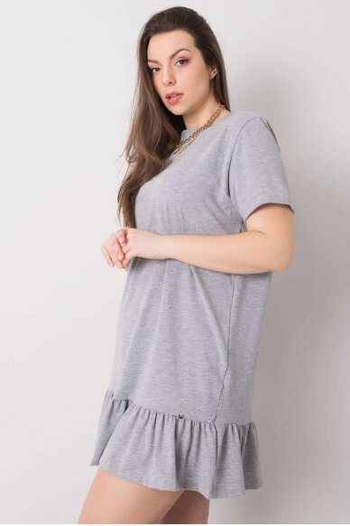 Pilka suknelė MOD893 3