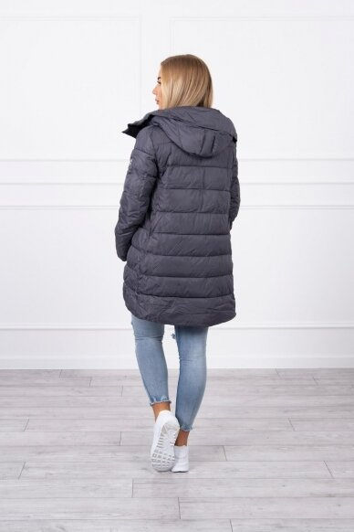 Pilka žieminė striukė MOD771 2
