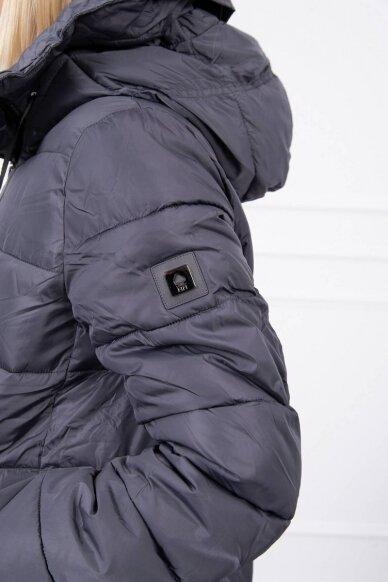Pilka žieminė striukė MOD771 6