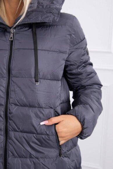 Pilka žieminė striukė MOD771 5