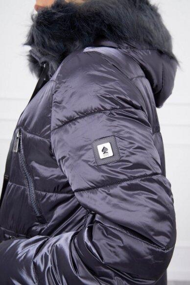 Pilka žieminė striukė MOD776 6