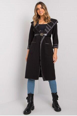 Juodas paltas MOD1410