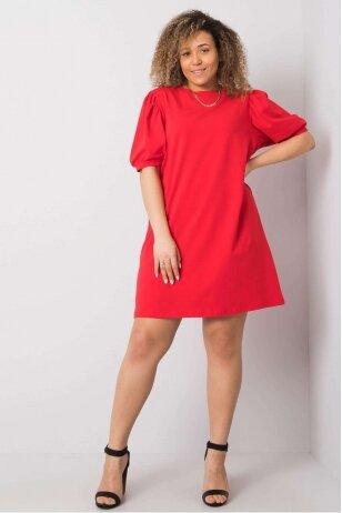 Raudona suknelė MOD892