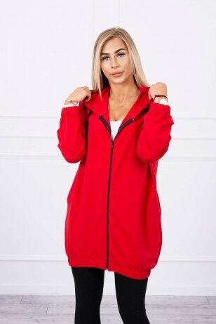 Raudonos spalvos marškinėliai MOD760