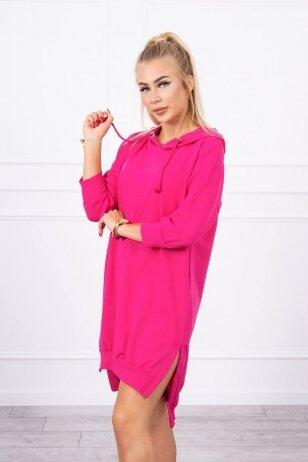 Rožinė suknelė MOD685
