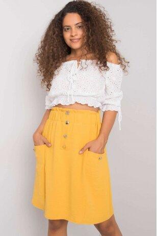 Geltonas sijonas MOD1170