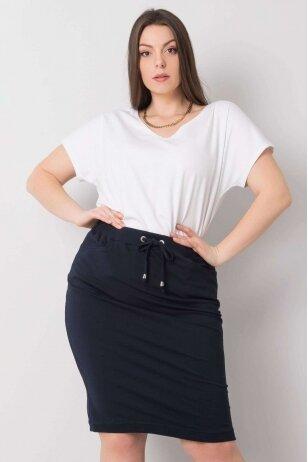 Tamsiai mėlynas sijonas MOD1023