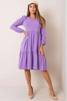 Violetinė suknelė MOD1210