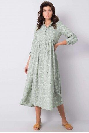 Chaki spalvos suknelė MOD916