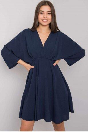 Tamsiai mėlyna suknelė MOD1220
