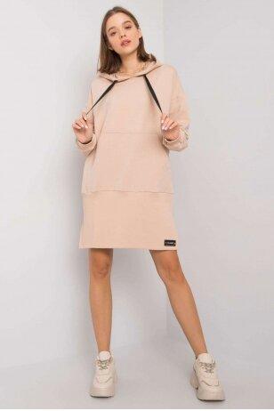 Smėlinės spalvos suknelė MOD1195