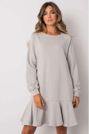 Pilka suknelė MOD1192