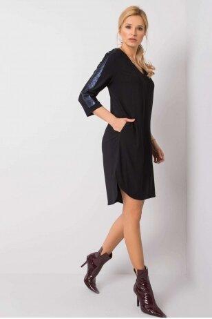 Juoda suknelė MOD922