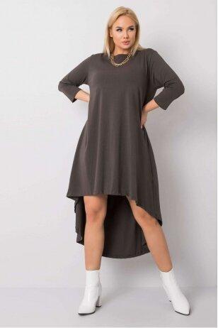 Chaki spalvos suknelė MOD833