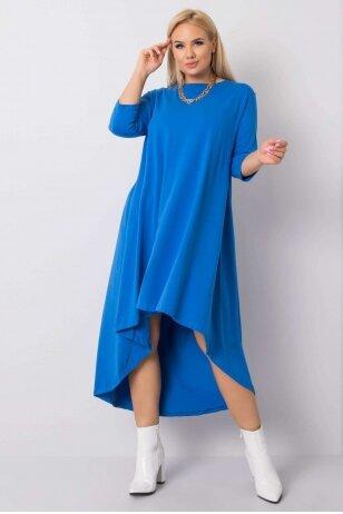 Mėlynos spalvos suknelė MOD833