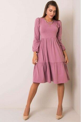 Tamsiai rožinė suknelė MOD1210