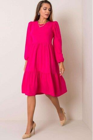 Rožinė suknelė MOD1210