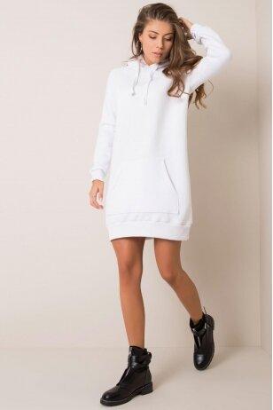 Balta suknelė tunika MOD1209