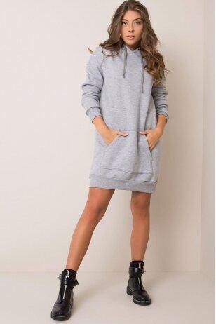 Pilka suknelė tunika MOD1209