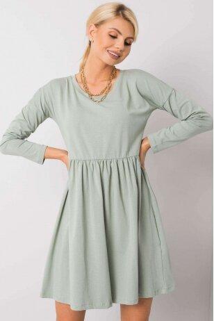 Šviesiai žalia suknelė MOD896