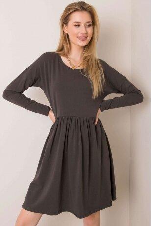 Chaki spalvos suknelė MOD896
