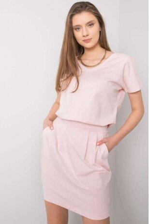 Šviesiai rožinė suknelė MOD917