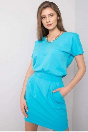 Turkio spalvos suknelė MOD917