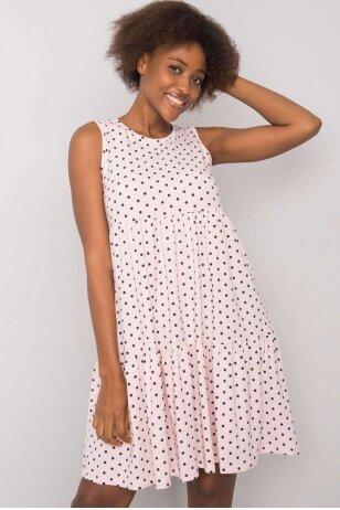 Šviesiai rožinė suknelė MOD1126