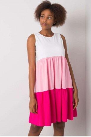 Rožinė suknelė MOD1127