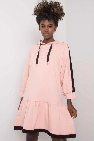 Nude spalvos suknelė MOD1193
