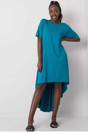 Jūros spalvos suknelė MOD1081