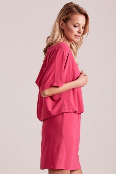 Rožinė suknelė MOD927 2