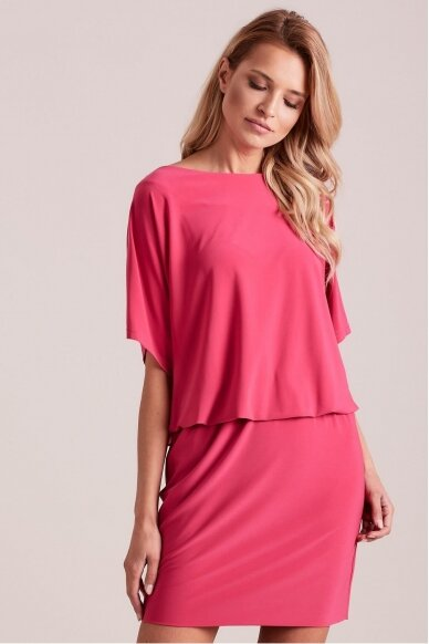 Rožinė suknelė MOD927